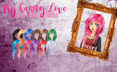 My Candy Love - Hair Pack by RaposaPop23