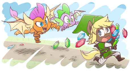 Delicious Rupees by thegreatrouge