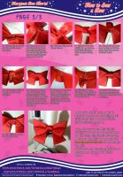 How to Sew a Bow (3/3) Maryjane's Bow Tutorial by MaryjaneDesignStudio