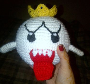 King Boo Crochet by StephDY