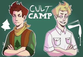 Cult Camp by gottaluvdrawing