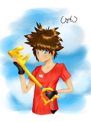 Sora KH by ImpureCat