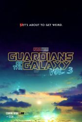 Guardians of the Galaxy Vol. 3 - Teaser Poster by spacer114