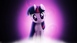 Twilight being cute by DrakeSparkle44