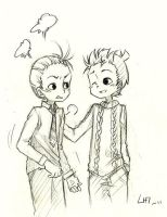 Spirou and Fantasio by trissan