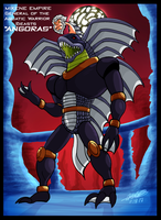 Mazinger series - Mikene General Angoras by GearGades