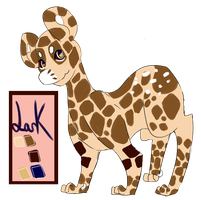 Lark (the snarky) - Giraffe Loon! by RascalWabbit