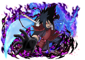 Madara Uchiha by AiKawaiiChan