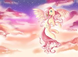 Fluttershy Forever by dream--chan