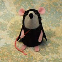Snape Mouse by The-House-of-Mouse