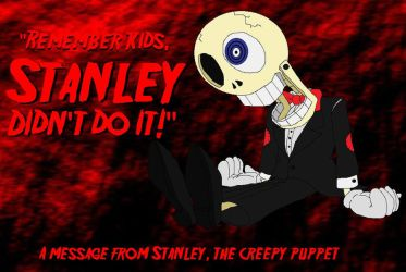 Stanley, the Creepy Puppet by PlayboyVampire