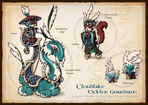 Cloudlake Tickler Guardians by woodchi