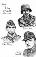 Heroes Of D-Day by DeoKristady
