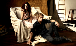 Jace and Clary - with runes by majestamoniet