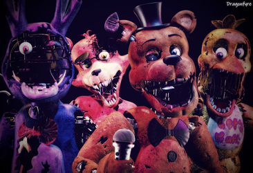 Broken - FNaF 2 by DaisytheDragon