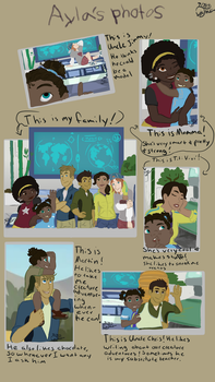 Wild Kratts - Ayla's Photos by A-Forrest-Night