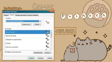 Cursor Pusheen+Instalador(-MicaEdition's-) by MicaEditionsSs