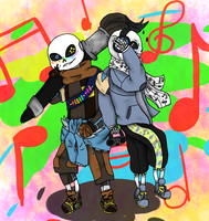 Art of the Sans by littlerain999