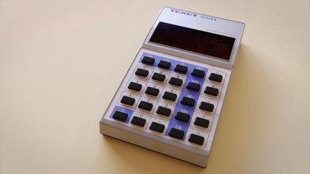 The Old Calculator by QuickBoomCG