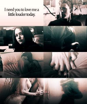 Love me louder by LaLaShivers