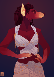 Dawn - Commission for Madame by FionaCreates