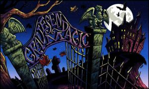 Gravesend Magic Playmat by JustinWyatt