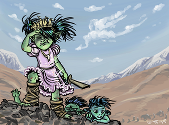 Orc adventure! by shivikai