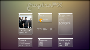 EmpirePX 1.0 Suite. [Rainmeter Skin] by jlynnxx