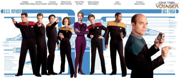 Star Trek Voyager Cast by hardbodies
