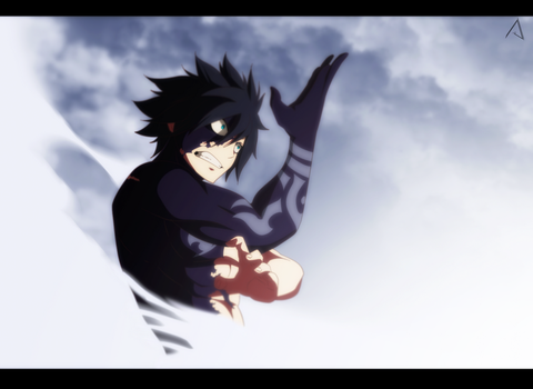 Fairy Tail | Gray Fullbuster by Asylagi