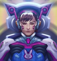 D.Va from Overwatch (Genderbend Version) by lancercross