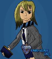 Ravenclaw Girl by Ford206