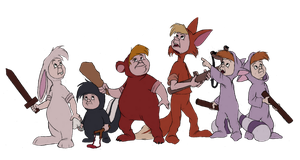 Disney Club Collab- The Lost Boys by Atarial