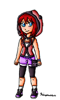 Just Kairi by ninpeachlover