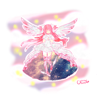 CONTEST ENTRY - Goddess Madoka by CritterPunk