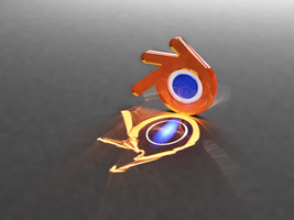 Yet Another Blender Logo by plenTpak