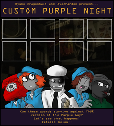 Custom Purple Night by ryukodragon
