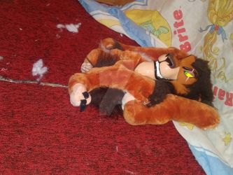 Torn Up Lion 3 by Plush-Artist