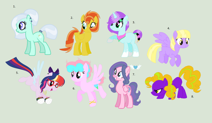 Old OC Adopts CLOSED by Jess4horses
