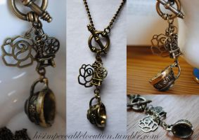 Once Upon A Rumbelle Necklace by yrantho