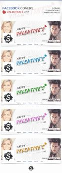 Facebook Covers Valentine Day by DSaerox