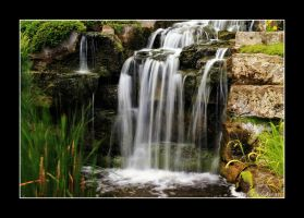 Melodious  waterfall . by 999999999a