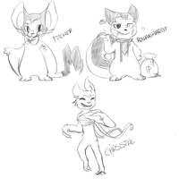 some sketches by KIN5D0M