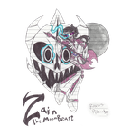 the TFP/Undertale oc : Zain the MoonBeast by RoxasPikachu
