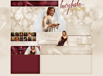 layout ft. Lucy Hale by Andie-Mikaelson