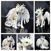 Feathered Dragon by LittleCLUUs