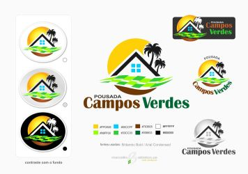 Layout Pousada Campos Verdes by battiston