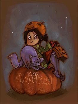Happy Halloween by daisy7