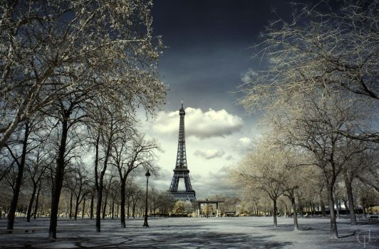 First day of spring in Paris by melintir