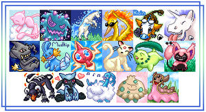 Many Pokemon Icons